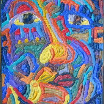 """Painting titled """"Untitled"""" by Paul Arenas, Original Art,"""