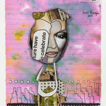 """Collages titled """"16 July"""" by Pavel Kuragin, Original Art, Collages"""
