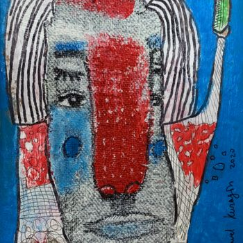 """Collages titled """"Best way to drink"""" by Pavel Kuragin, Original Art, Acrylic"""