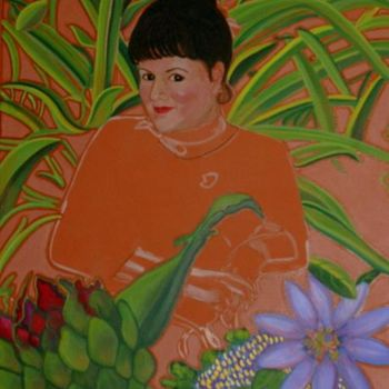 """Painting titled """"Work in progress"""" by Drapala Gallery, Original Art,"""