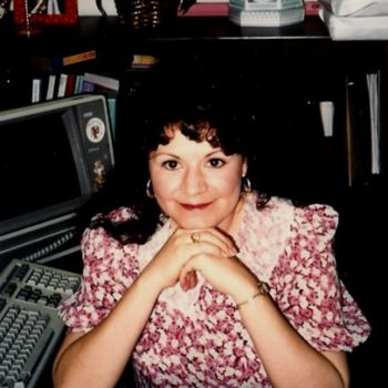 """Photography titled """"Pam at work 1990s"""" by Drapala Gallery, Original Art,"""