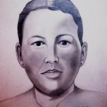 """Drawing titled """"Gregoria Martinez H…"""" by Drapala Gallery, Original Art,"""