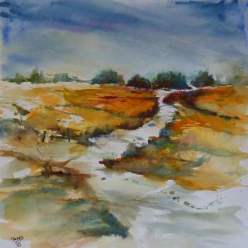Painting, watercolor, impressionism, artwork by Penny Gp
