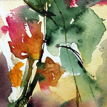 Painting, watercolor, artwork by Véronique Piaser-Moyen