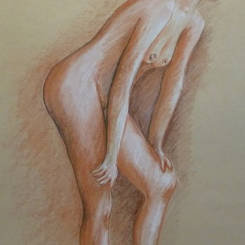 Drawing, figurative, artwork by Pierre Feyeux