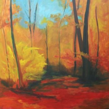"""Painting titled """"indian summer"""" by Piotr, Original Art,"""