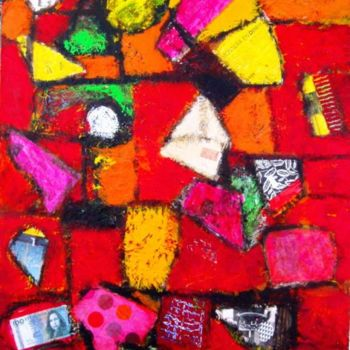 Painting, acrylic, abstract, artwork by Jacqueline Pizano