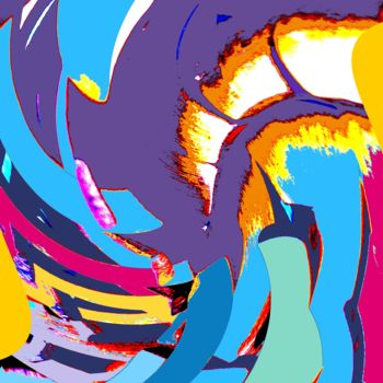 Digital Arts, abstract, artwork by Jacqueline Pizano