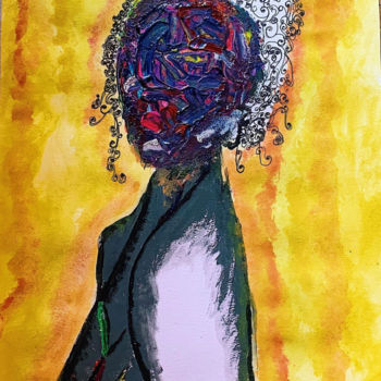 Feminine Painting, acrylic, conceptual art, artwork by Rym Murtada