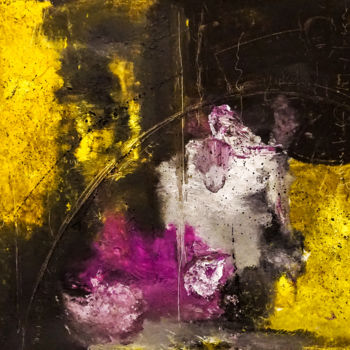 """Painting titled """"Abstract Oil Painti…"""" by Retne, Original Art, Ink"""