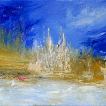 """Painting titled """"Semi Abstract Lands…"""" by Retne, Original Art, Oil"""