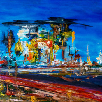 """Painting titled """"""""PANORAMA"""" Abstract…"""" by Retne, Original Art, Oil"""