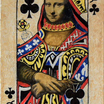 """Painting titled """"Queen of Art. Oil o…"""" by Retne, Original Art, Oil"""