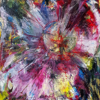 """Painting titled """"Oil Abstract Painti…"""" by Retne, Original Art, Oil"""
