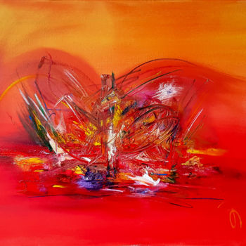 """Painting titled """"Abstract Painting O…"""" by Retne, Original Art, Acrylic"""