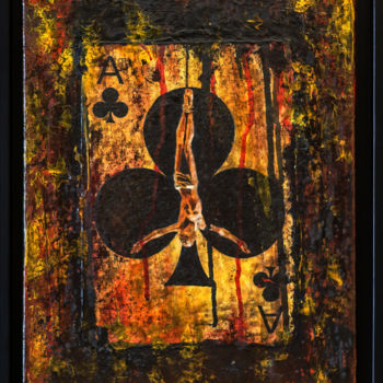 """Painting titled """"He's done it! Icon.…"""" by Retne, Original Art, Acrylic"""