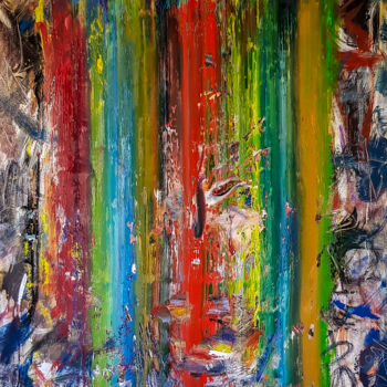 """Painting titled """"-Surge- Abstract Or…"""" by Retne, Original Art, Oil"""