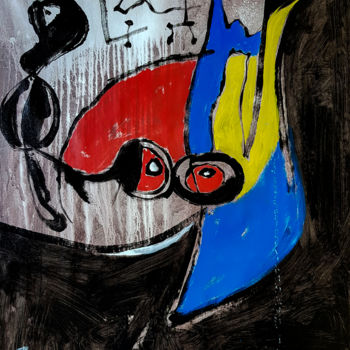 """Painting titled """"-Seriously- Abstrac…"""" by Retne, Original Art, Acrylic"""