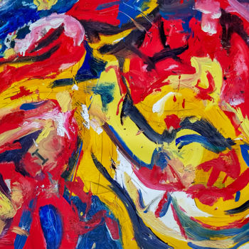"""Painting titled """"""""Alnore"""" Abstract E…"""" by Retne, Original Art, Oil"""
