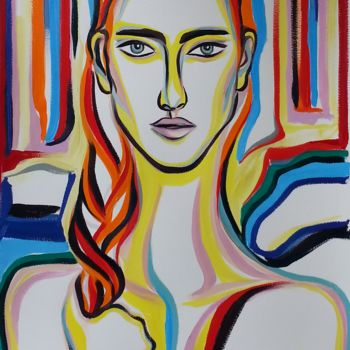 Painting, oil, expressionism, artwork by Riina Sirel