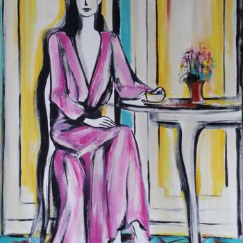 Painting, acrylic, figurative, artwork by Riina Sirel