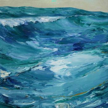 """Painting titled """"WATER"""" by Robin Mols, Original Art,"""