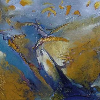 """Painting titled """"Ages Ago"""" by Robin Mols, Original Art, Oil"""