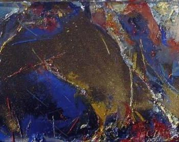 """Painting titled """"Palette-Able #1"""" by Robin Mols, Original Art, Oil"""