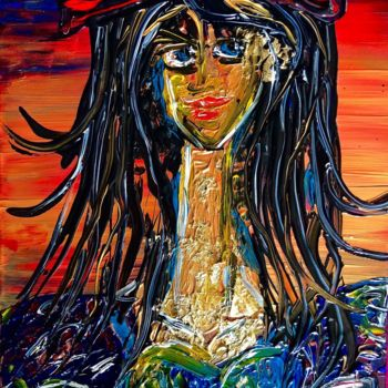 """Painting titled """"""""what if it is not…"""" by Rok Blenkuš, Original Art, Acrylic"""