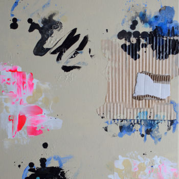 Abstract Painting, acrylic, abstract, artwork by Romilios