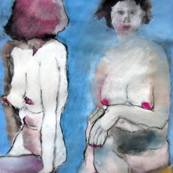 Painting, other, figurative, artwork by Rosemay