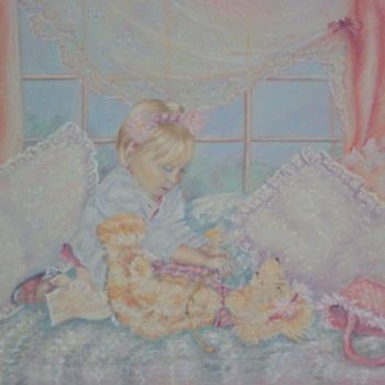 """Painting titled """"Sally's very Busy"""" by Scally Art, Original Art, Oil"""
