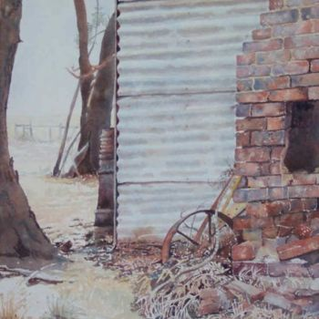 """Painting titled """"Misty Morning at Hi…"""" by Scally Art, Original Art, Oil"""