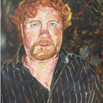 """Painting titled """"'Shonky'  Shaun"""" by Scally Art, Original Art, Oil"""