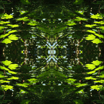 """Digital Arts titled """"Forest Abstract 44"""" by Kenneth Grzesik, Original Art, Digital Painting"""