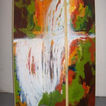 """Painting titled """"Cascada, chile"""" by Marcela, Original Art,"""