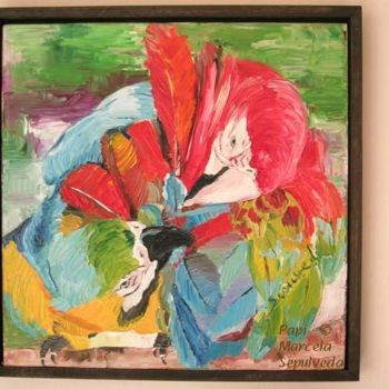 """Painting titled """"Papi"""" by Marcela, Original Art,"""
