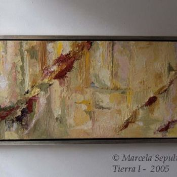 """Painting titled """"Tierra"""" by Marcela, Original Art,"""