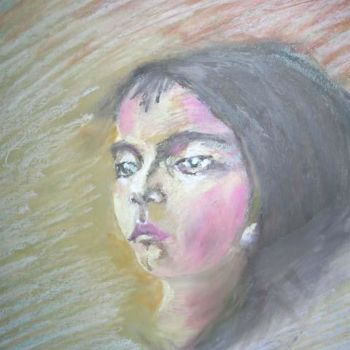 """Painting titled """"Tus ojos"""" by Marcela, Original Art,"""
