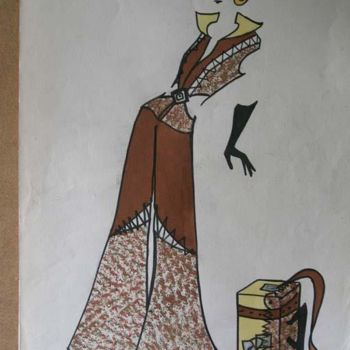 """Painting titled """"Telas"""" by Marcela, Original Art, Other"""