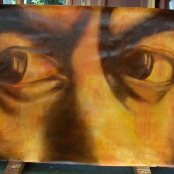 """Painting titled """"Eyes"""" by Marcela, Original Art,"""