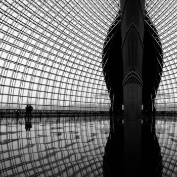 """Photography titled """"The Dome Around (SQ…"""" by Serge Horta, Original Art, Digital Photography"""