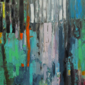 """Painting titled """"6 am"""" by Andria Shengelia, Original Art, Oil"""