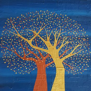 """Painting titled """"tree of love1"""" by So Hyon Kim, Original Art, Acrylic"""