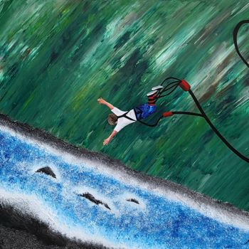 """Painting titled """"let me free2"""" by So Hyon Kim, Original Art, Acrylic"""