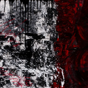 """Painting titled """"moderation and harm…"""" by So Hyon Kim, Original Art, Acrylic"""