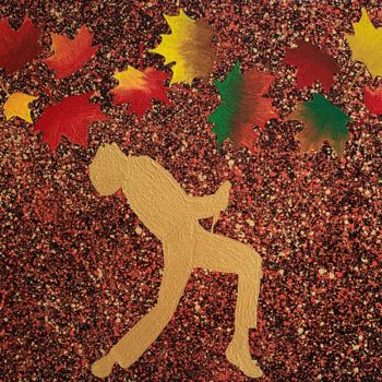 """Painting titled """"autumn of Freddie"""" by So Hyon Kim, Original Art, Acrylic"""
