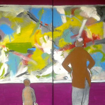 """Painting titled """"gallery"""" by Simon Taylor, Original Art,"""