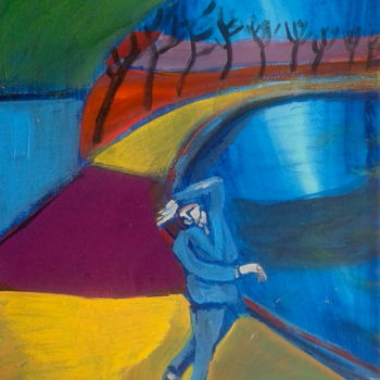 """Painting titled """"arch/dance"""" by Simon Taylor, Original Art,"""