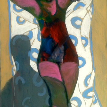 """Painting titled """"beach 2"""" by Simon Taylor, Original Art,"""